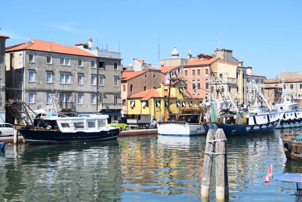 Chioggia Fischereihafen Venetien Italien