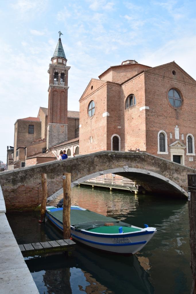 Chioggia Klein Venedig Kirche Parrocchia di San Giacomo Apostolo Venetien Italien