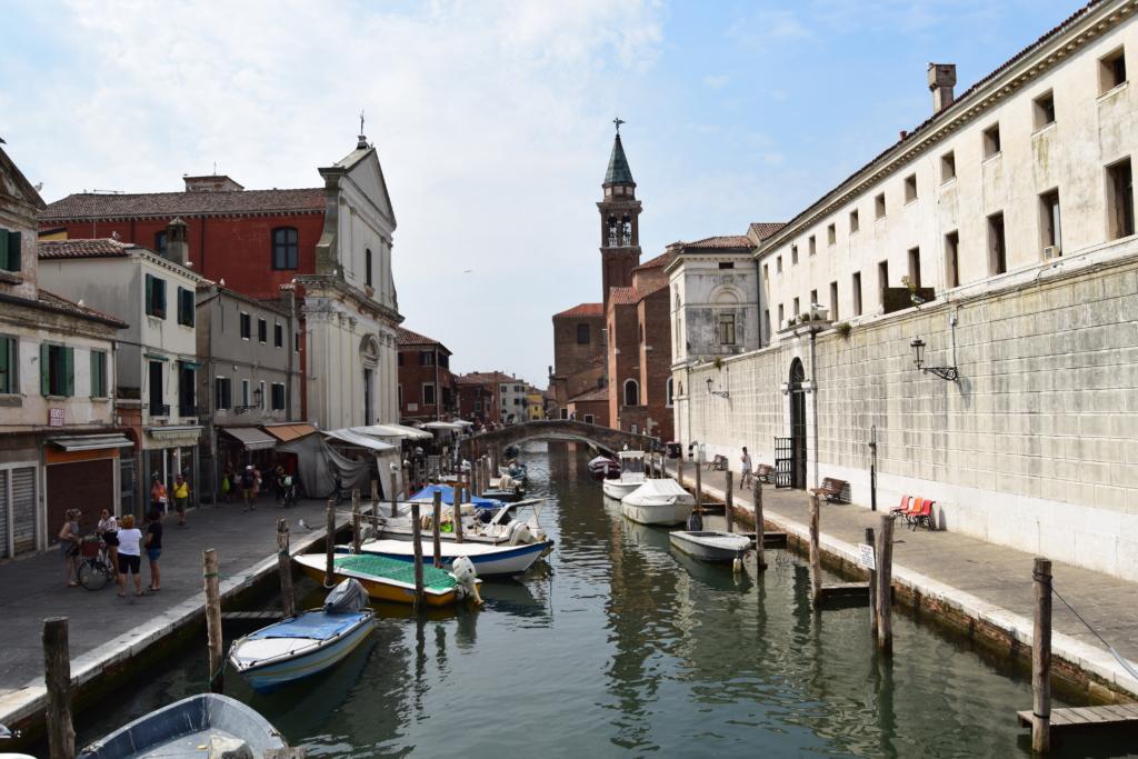 Chioggia Klein Venedig Kanal Canal Vena Venetien Italien