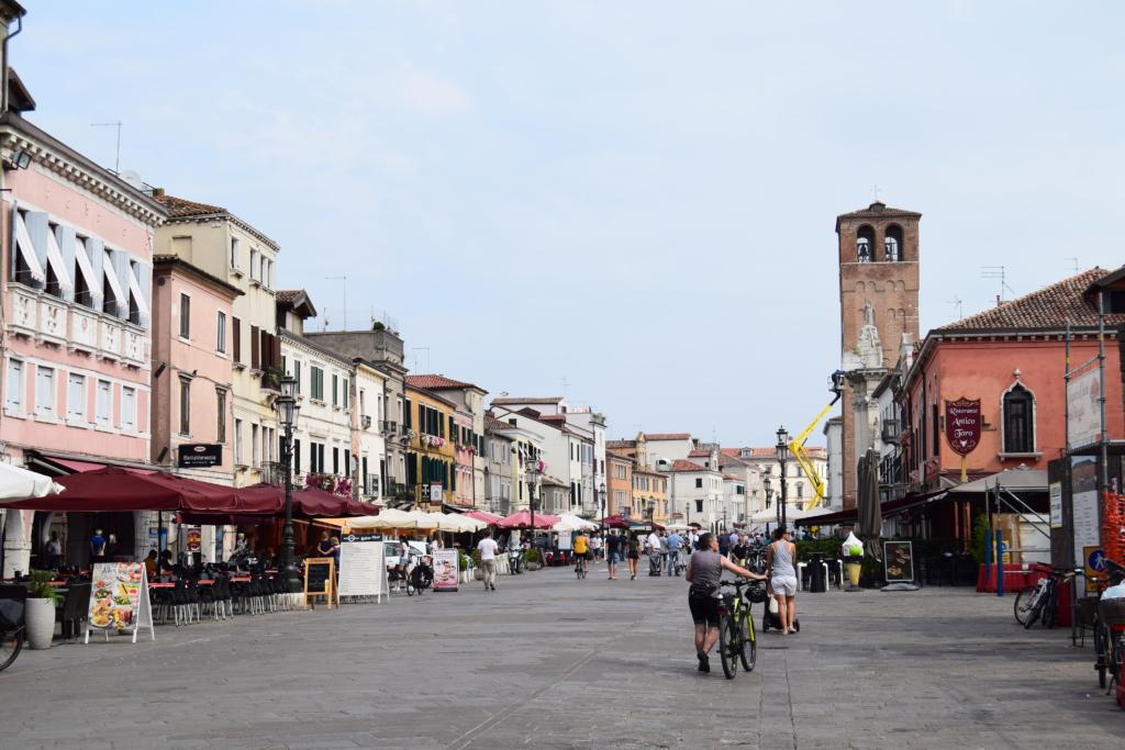Chioggia Altstadt Zentrum Corso del Poppolo Venetien Italien