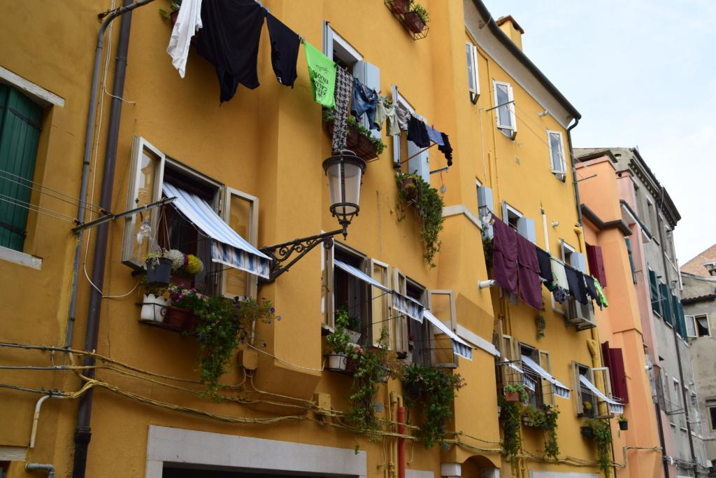 Chioggia Gassen Häuser Venetien Italien