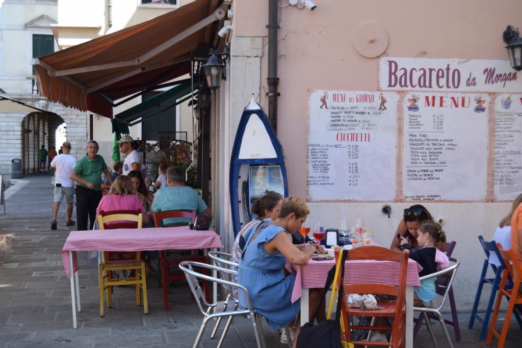 Chioggia Klein Venedig Restaurant Bar Kanal Venetien Italien