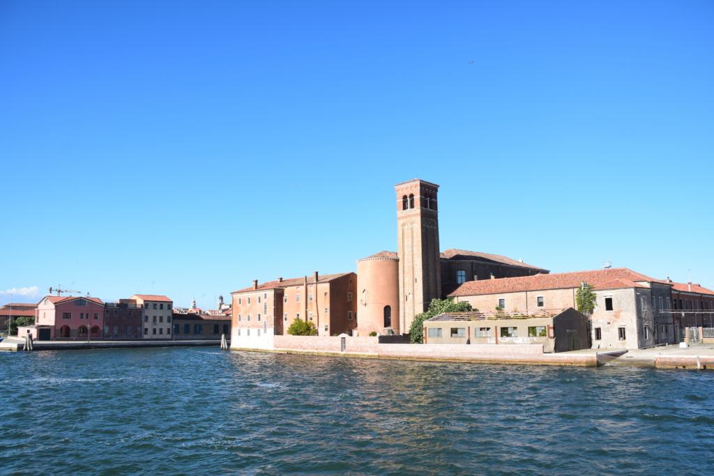 Chioggia Altstadt Kirche Saint Domenico Zentrum Venetien Italien
