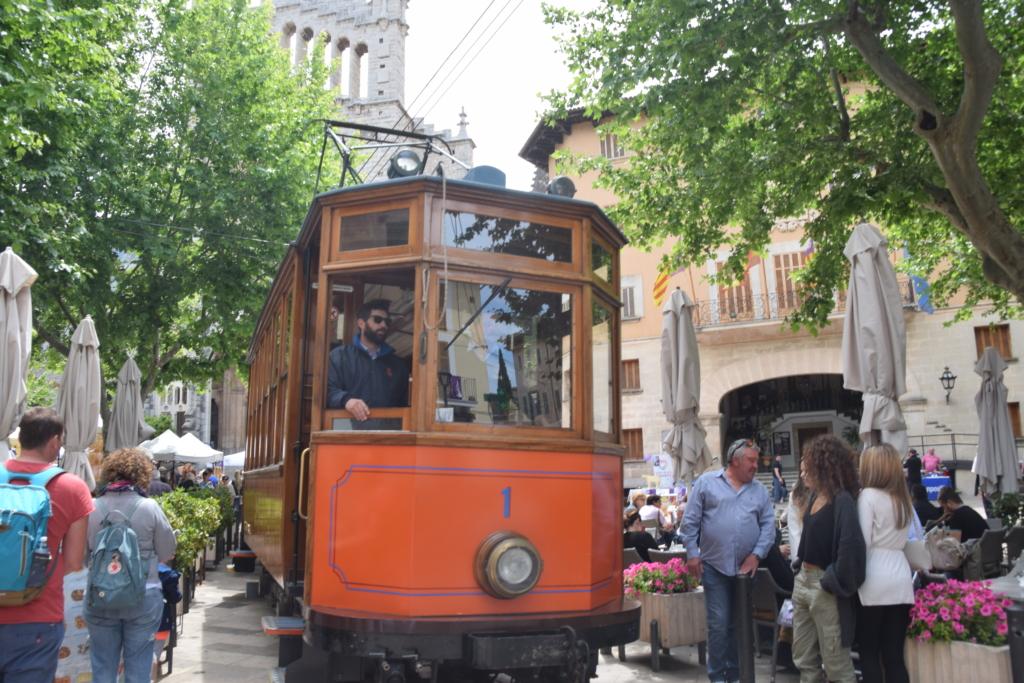 Strassenbahn Soller Mallorca