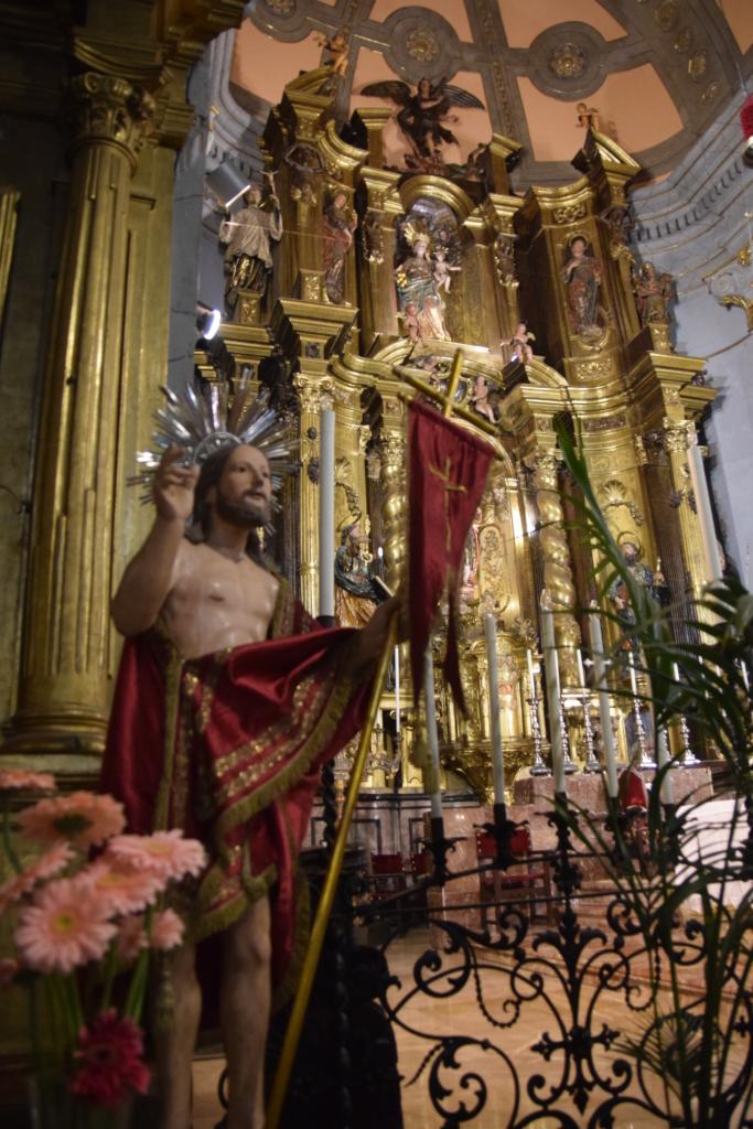 04 altar kirche sant bartomeu soller mallorca balearen spanien
