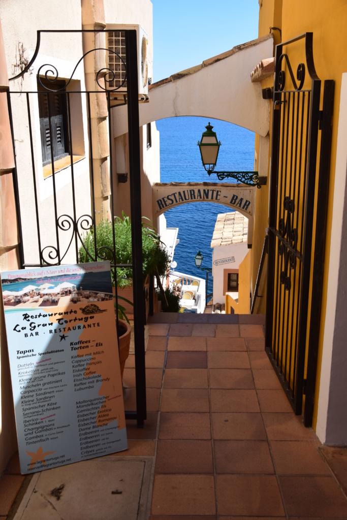 Restaurante La Gran Tortuga Cala Fornells Peguera Paguera Mallorca Balearen Spanien