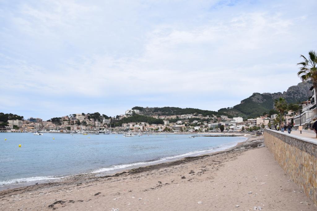 hafen strand port de soller mallorca balearen spanien