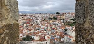 aussicht castelo de sao jorge lissabon portugal aida familien kreuzfahrt