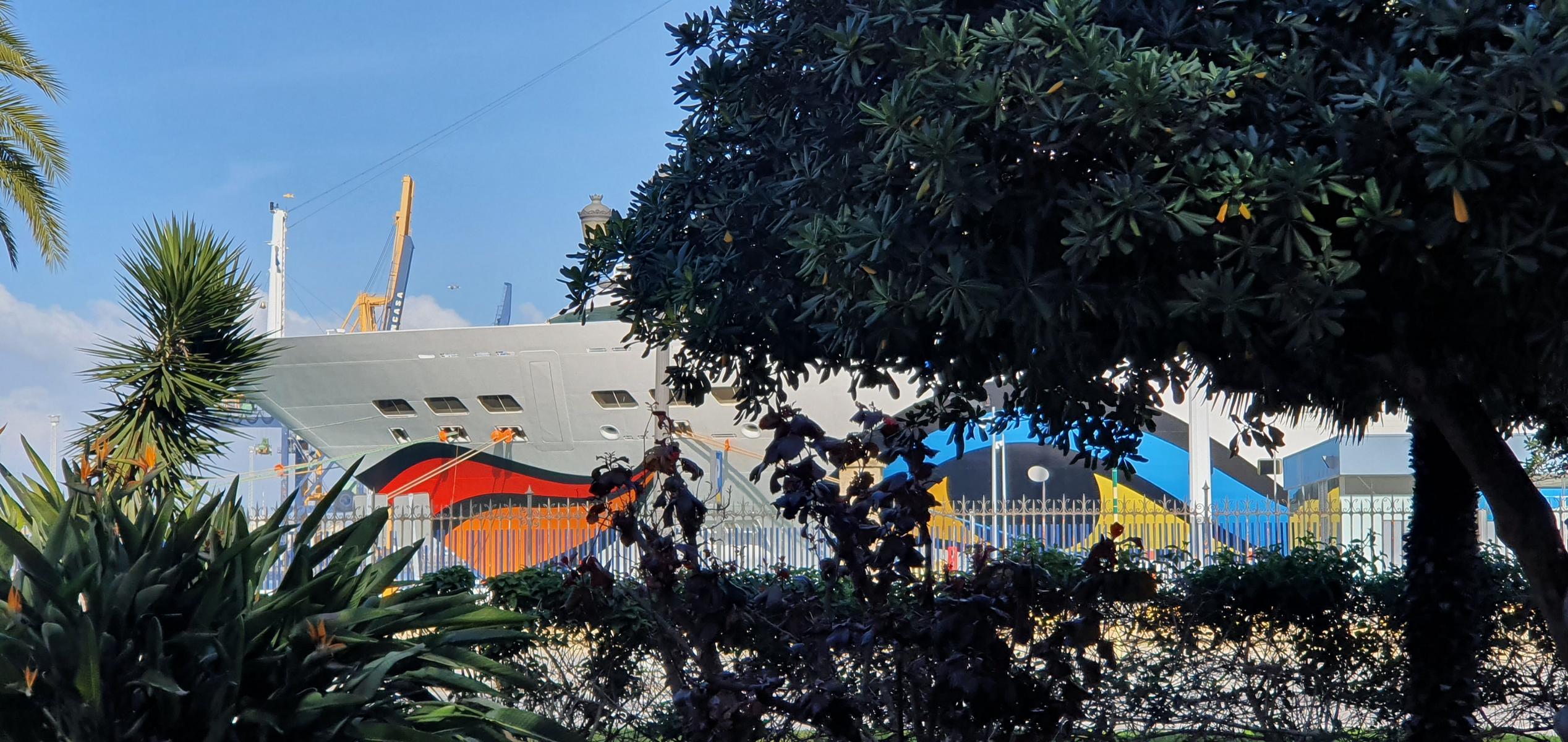 aidamar hafen puerto de cadiz andalusien spanien aida familien kreuzfahrt