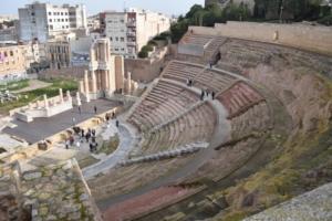 Römisches Theater teatro romano de cartagena spanien aida familien kreuzfahrt