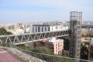 lift zur festung castillo de la concepcion cartagena murcia spanien aidamar familien kreuzfahrt