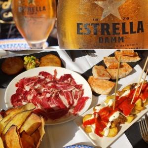 tapas bier la rambla barcelona spanien aida familien kreuzfahrt