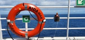 kreuzfahrtschiff aidamar rettungsring aida familien kreuzfahrt