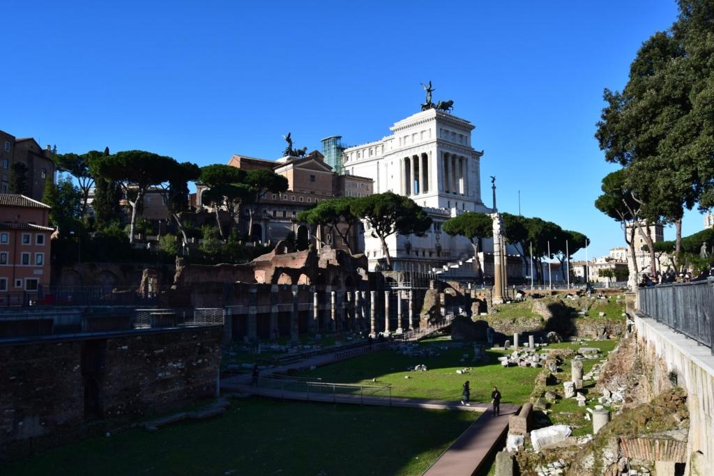 caesarforum rom italien dezember
