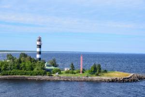 leuchtturm riga düna lettland luxus fähre tallink isabelle