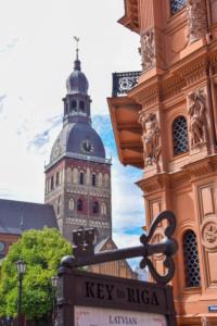 jugendstil architektur dom zu riga sehenswürdigkeiten lettland
