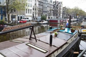 grachten hausbootmuseum amsterdam holland niederlande