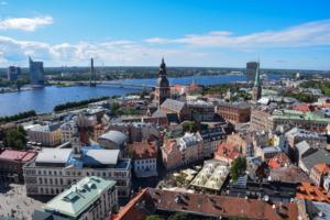 aussicht turm petrikirche düna dom zu riga sehenswürdigkeiten lettland