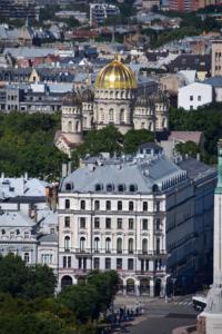 russisch orthodoxe geburtskathedrale riga sehenswürdigkeiten lettland
