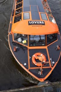grachtenboot lovers canal cruise grachtenfahrt amsterdam holland niederlande