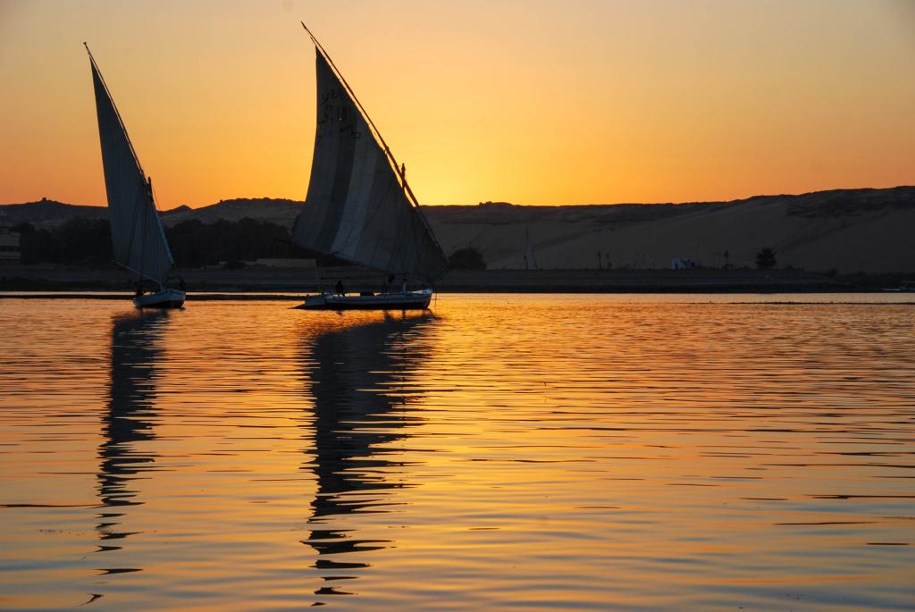 wallpaper free hintergrundbilder kostenlos sonnenuntergang nil aegypten