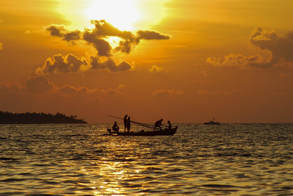 wallpaper free hintergrundbilder kostenlos sonneuntergang malediven