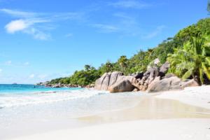 wallpaper free hintergrundbilder kostenlos traumstrand praslin seychellen