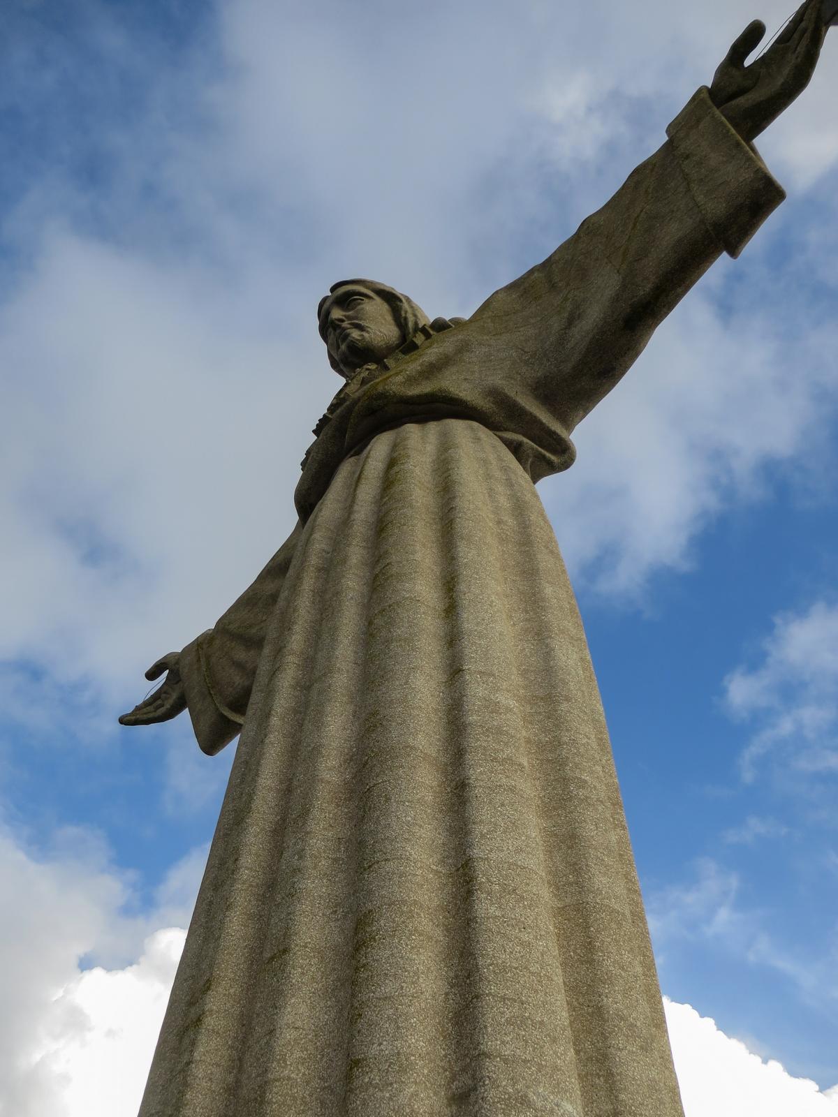 Städtetrip Lissabon Sehenswürdigkeiten ChristusstatueSantuário do Cristo-ReiAlmada Portugal