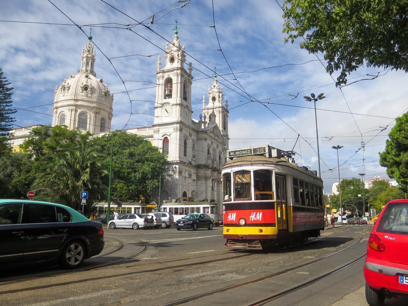 Städtereise Lissabon Sehenswürdigkeiten Kirche Basílica da Estrela Portugal