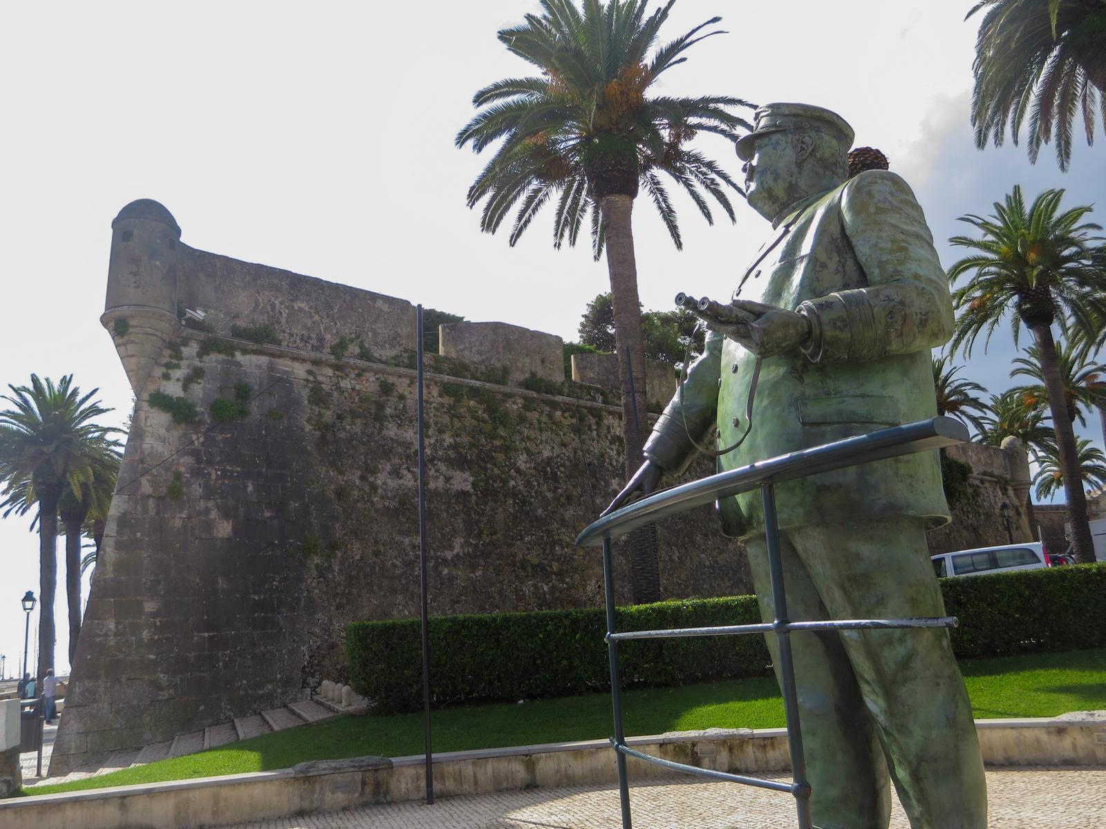 Städtereise Lissabon Sehenswürdigkeiten Ausflug Festung Palácio da Cidadela de Cascais Portugal