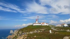 Städtereise Lissabon Sehenswürdigkeiten Ausflug Cabo da Roca westlichster Punkt Europas Atlantik Portugal