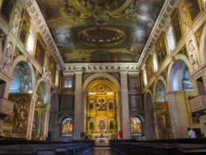 Städtereise Lissabon Sehenswürdigkeiten Kirche Igreja de Sao Roque Innen Portugal