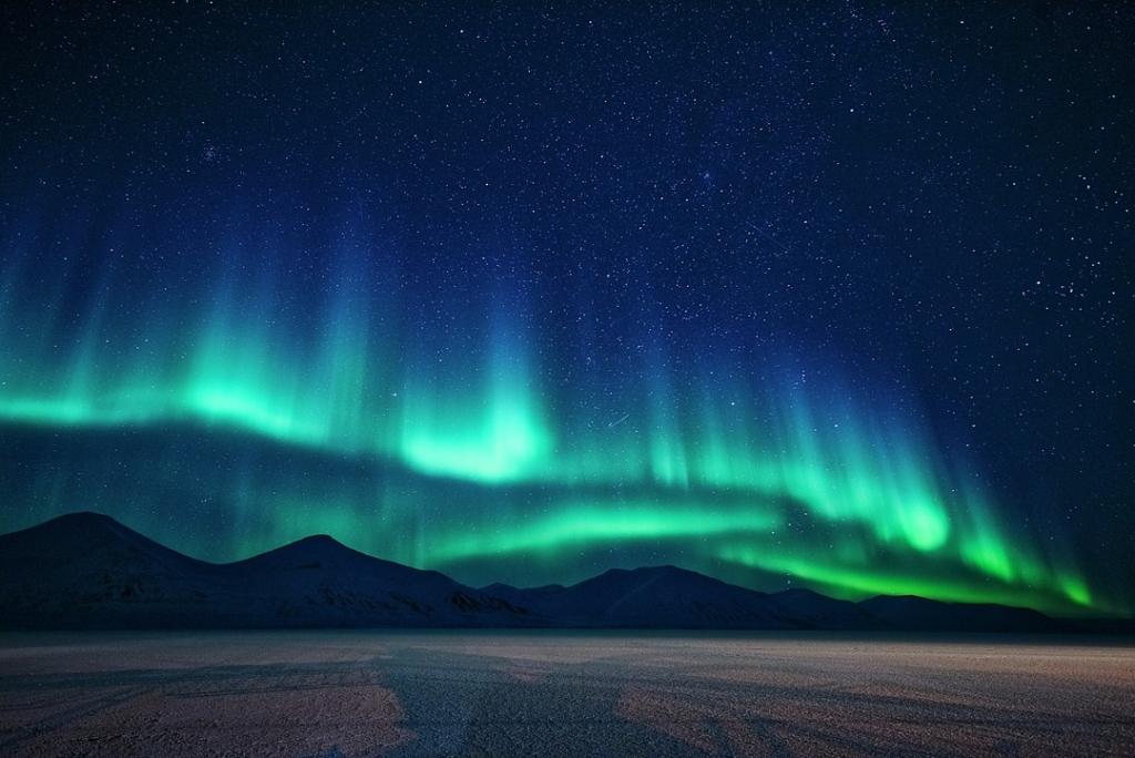 Hurtigruten Nordlicht Polarlicht Norwegen