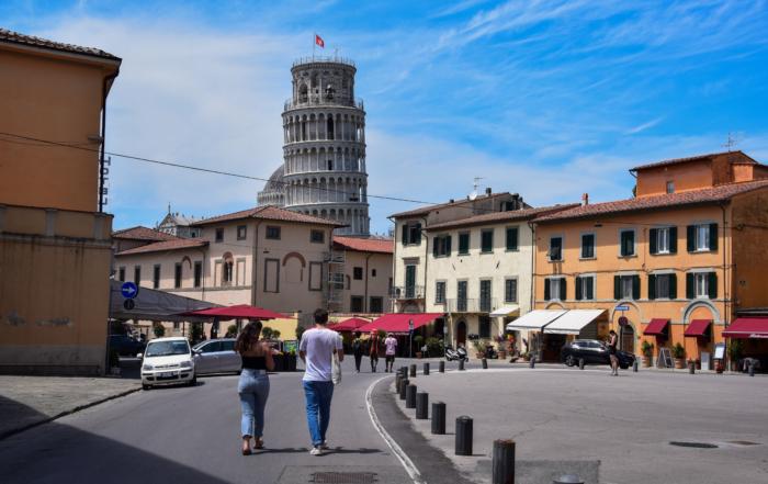 Pisa Toskana Italien Sommerurlaub 2021 Corona