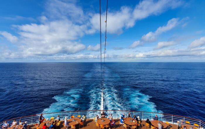 Kreuzfahrt Spanien Kielwasser