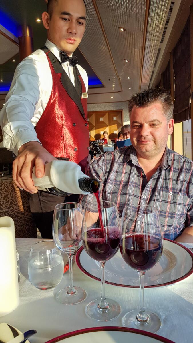 Costa Kreuzfahrt Spanien Dinner Kreuzfahrtblogger