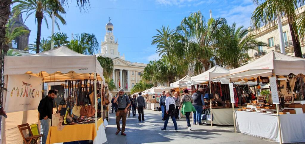 Kreuzfahrt Spanien Marktplatz Cadiz