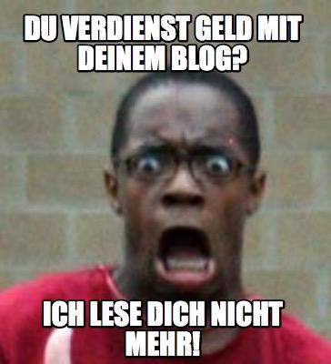 Geld verdienen Blog Blogger Backlink Linkaufbau SEO