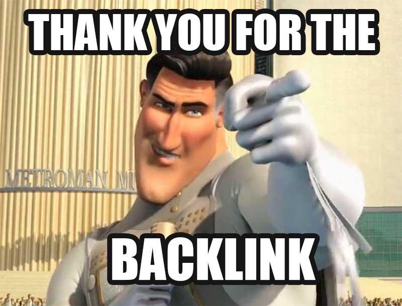 Danke für den Backlink