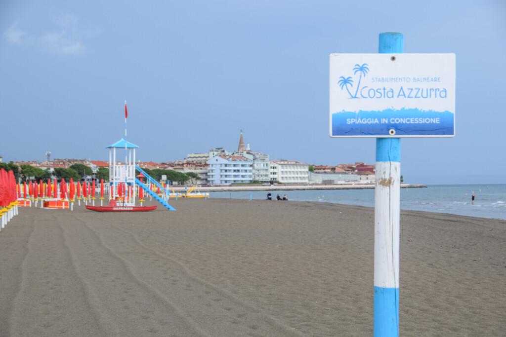 Costa Azzurra Strand Grado Friaul-Julisch Venetien Italien
