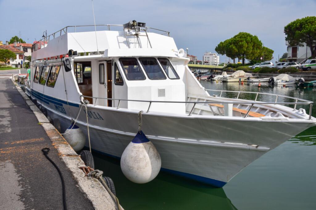 Canale della schiusa Ausflug Barbana Grado Friaul-Julisch Venetien Italien