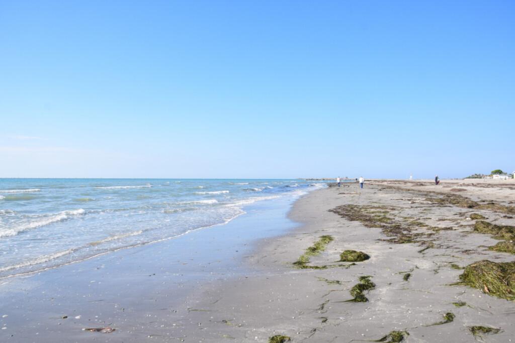 Strand Grado Pineta Herbst Friaul-Julisch Venetien Italien