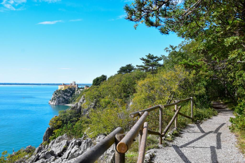 Wanderung Rilkeweg Schloss Duino Friaul-Julisch Venetien Italien