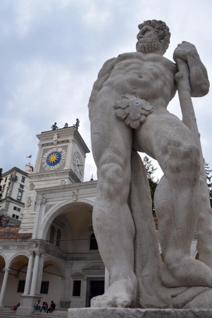 Piazza della Libertà Udine Friaul-Julisch Venetien Italien