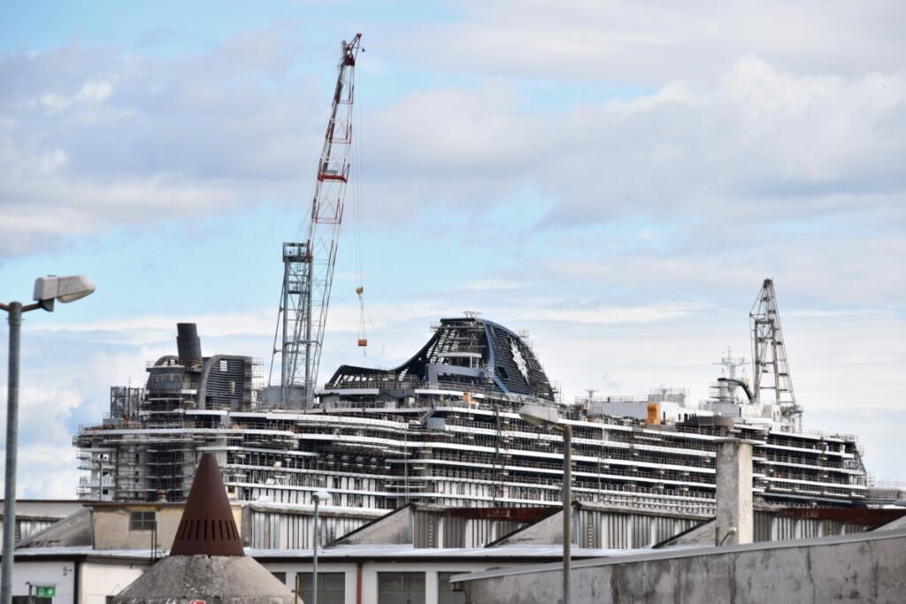 Monfalcone Fincantieri Werft Kreuzfahrtschiff MSC Seashore Ausflug Friaul-Julisch Venetien Italien