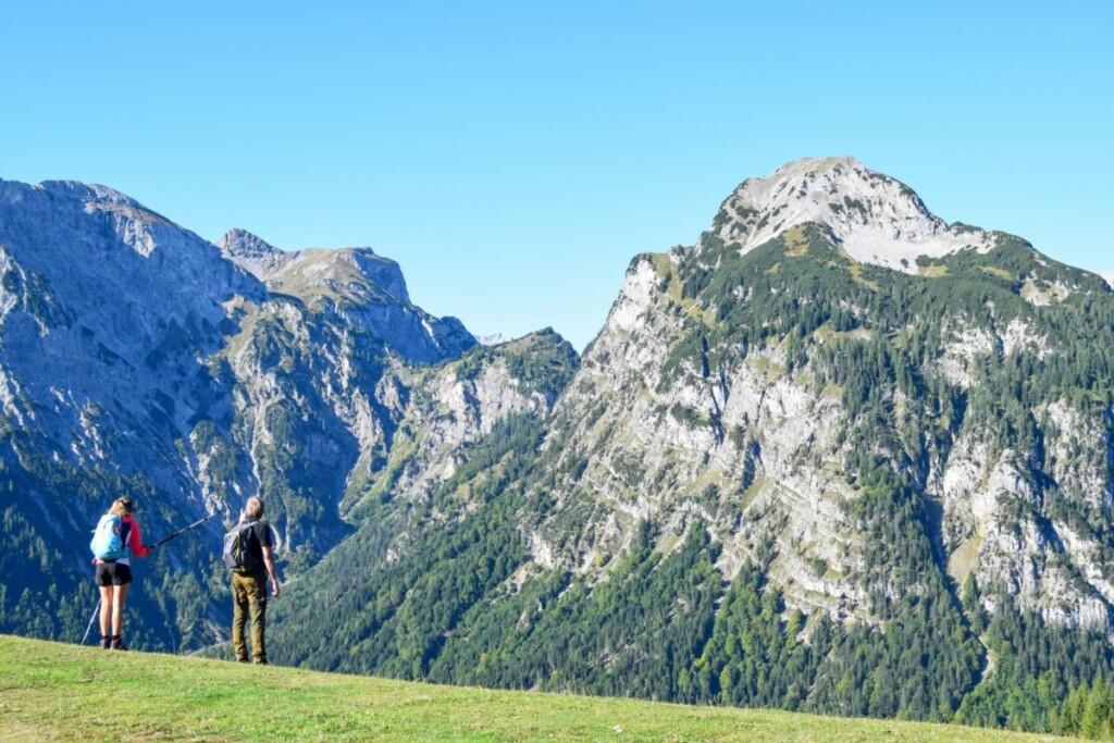 Panorama Rundwanderweg Zwölferkopf Karwendel Achensee wandern Pertisau Tirol Österreich
