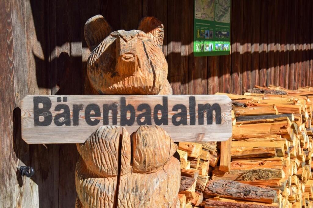 Bärenbadalm Zillergrund Karwendel Achensee Pertisau Tirol Österreich