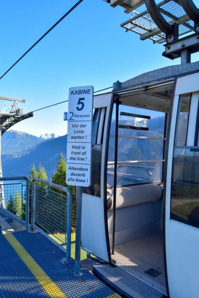 Bergstation Karwendel Bergbahn Zwölferkopf Achensee Pertisau Tirol Österreich