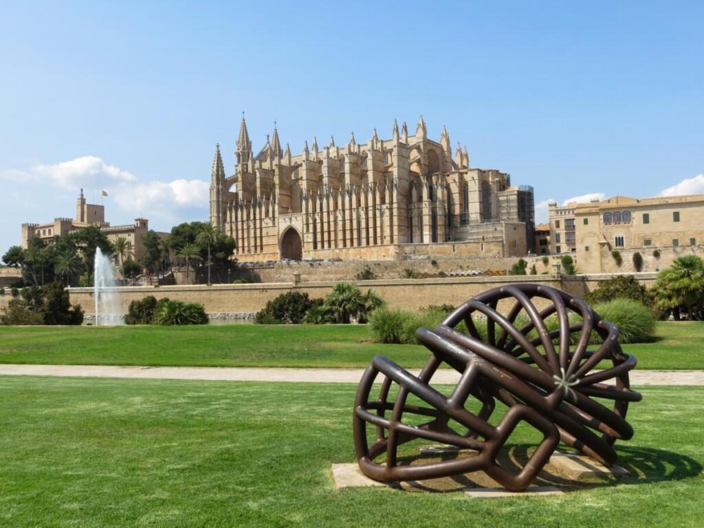 La Seu Kathedrale von Palma de Mallorca Sehenswürdigkeiten Balearen Spanien
