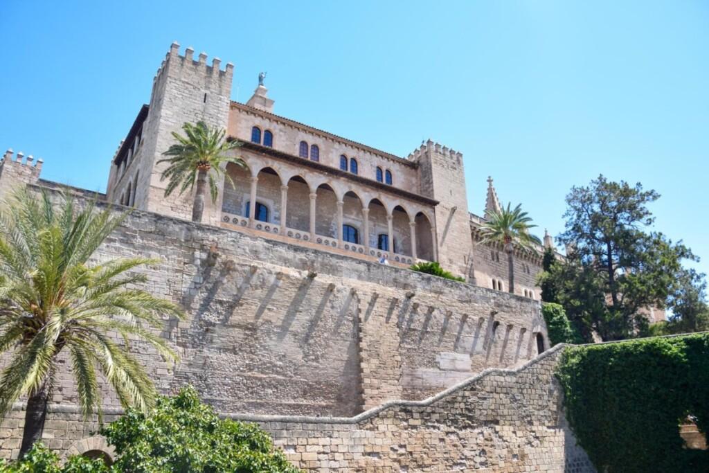 08 Palau Reial de lAlmudaina Koenigspalast Palma de Mallorca Sehenswuerdigkeiten Balearen Spanien